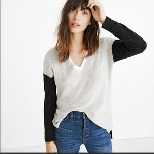 🙂🤪Madewell Color Block Sweater 💖😍💥